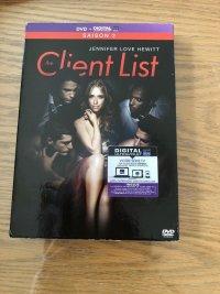 the client list saison2 DVD import