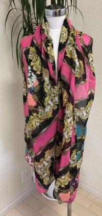 コデッロ チェーン柄 長方形スカーフ
