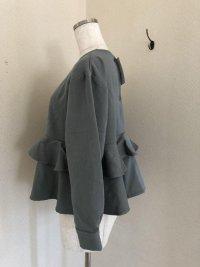 画像3: ルシエル ナチュラル服 ペプラムプルオーバー