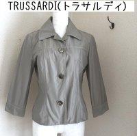 画像1: トラサルディ(TRUSSARDI) シャツジャケット40号 グレー