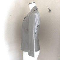 画像3: トラサルディ(TRUSSARDI) シャツジャケット40号 グレー