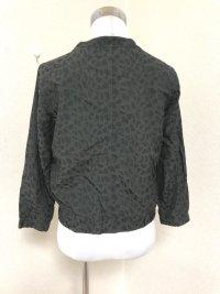 画像2: CEPOアニマル柄ジップアップジャケット黒M