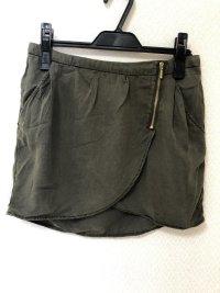 ベルシュカ小さいサイズミニスカートカーキS