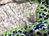 画像3: ユニクロ ミニフレアスカートグリーン小花柄M