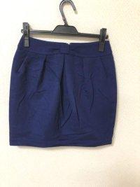 クイーンズコート(QUEENS COURT) リボン飾り タイトスカート