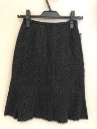プラリネ 小さいサイズ アンゴラ マーメイドスカート グレー XS
