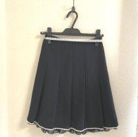画像3: リピエール セレモニーギャザースカート紺