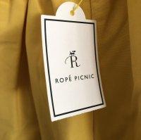 画像3: ROPE' PICNIC グログランタックギャザーフレアースカート イエロー