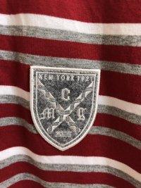 画像2: McGREGOR(マックレガー)半袖 ラガーシャツ レッドL