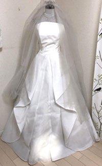 クチュールナオコ銀座 ウエディングドレスセット 小さいサイズ