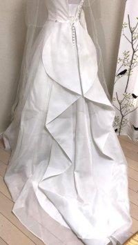 画像2: クチュールナオコ銀座 ウエディングドレスセット 小さいサイズ