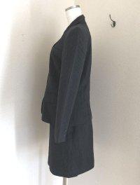 画像2: 日本製 Parcomiearl ピンストライプ シングルスーツ黒