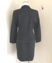 画像3: 日本製 Parcomiearl ピンストライプ シングルスーツ黒