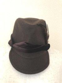 バックナンバー キッズ フォーマル帽子54 茶