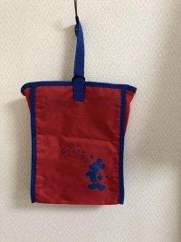 画像2: ECCジュニア ミッキーマウス シューズケース 巾着バッグ セット