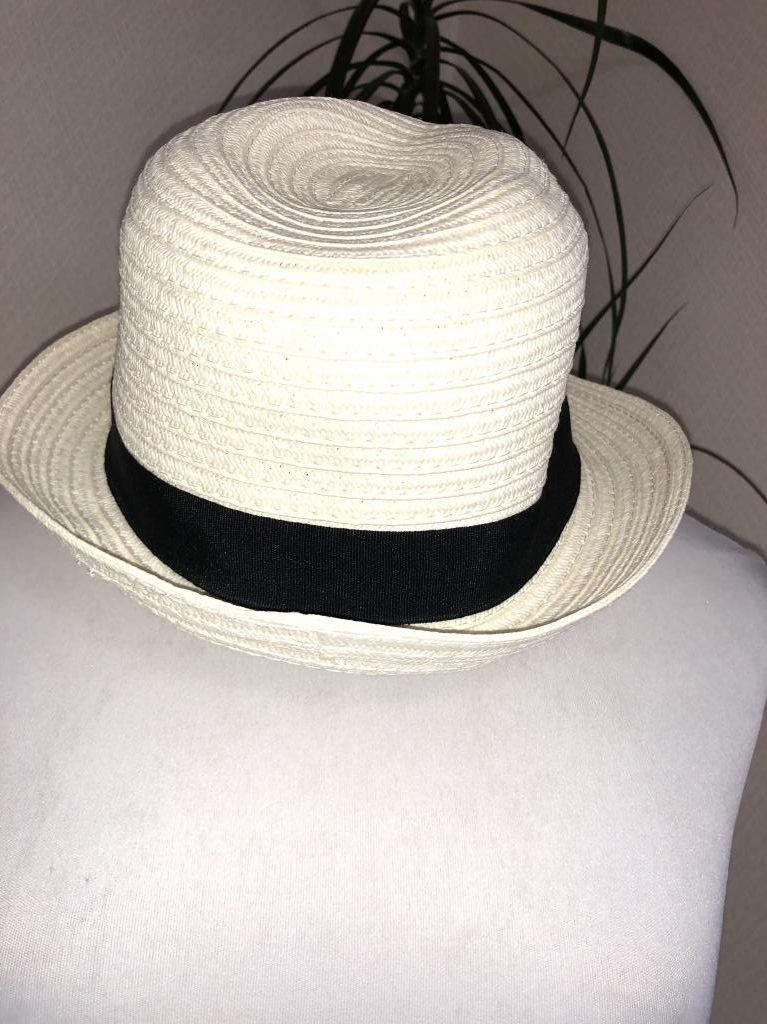 画像1: SMOOCH パナマ風麦わら帽子 (1)
